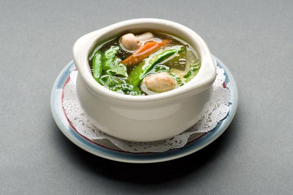 Vegetable Soup With Sriracha, Lemongrass, And Tofu Recipe ...